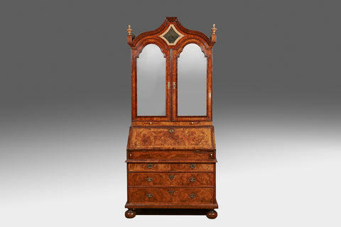 A Georgian D Shaped Cabinet - BCB159