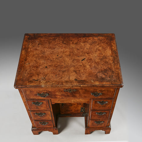 A Queen Anne Knee hole Desk - DK106