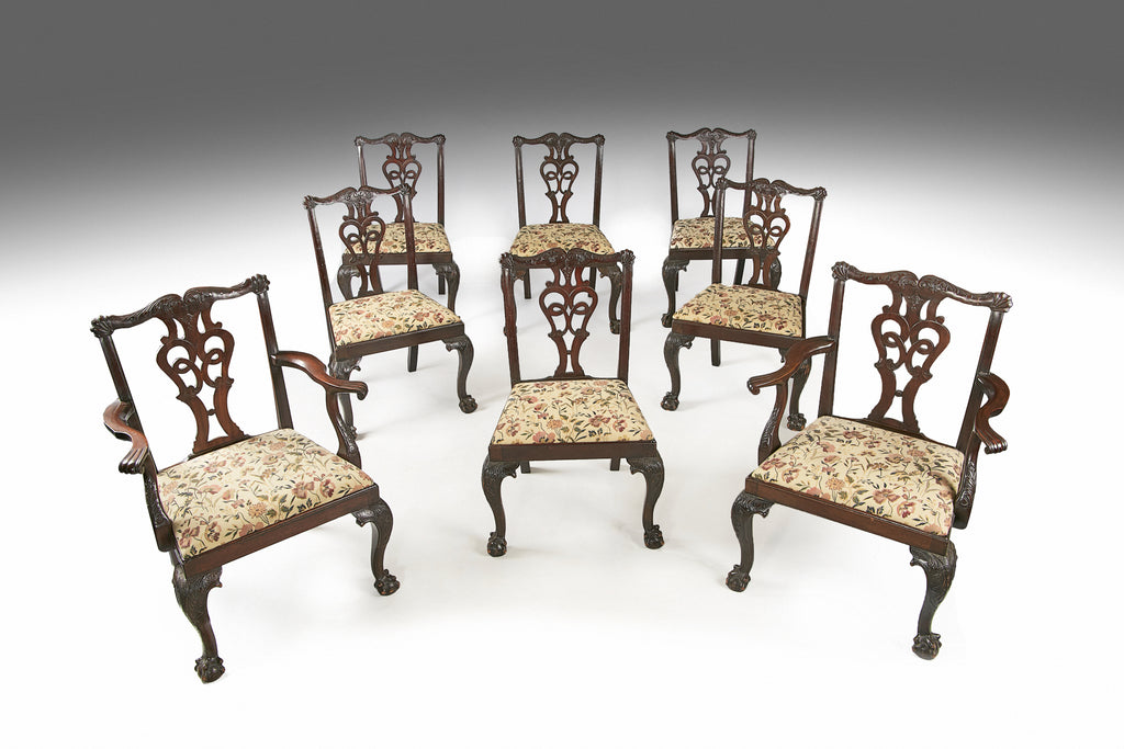 A Set of Eight Dining Chairs by Butler of Dublin - REST21