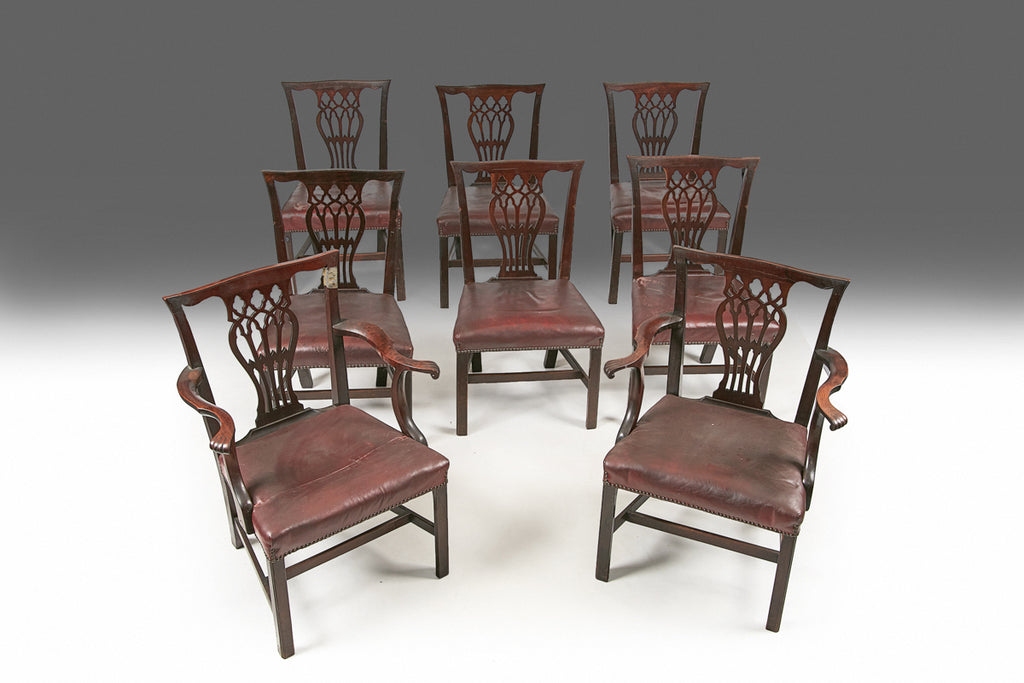 A set of Butler Dining Chairs - REST08