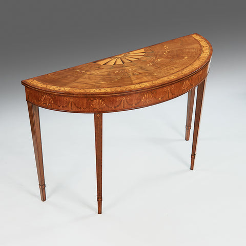 An Important Irish 18th Century Side Table by William Moore of Dublin - TB168