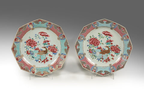 A Pair of 18th Century Chinese Platters - MS186