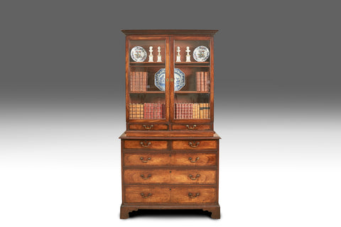 An 18th Century Mahogany Bookcase - BCB160