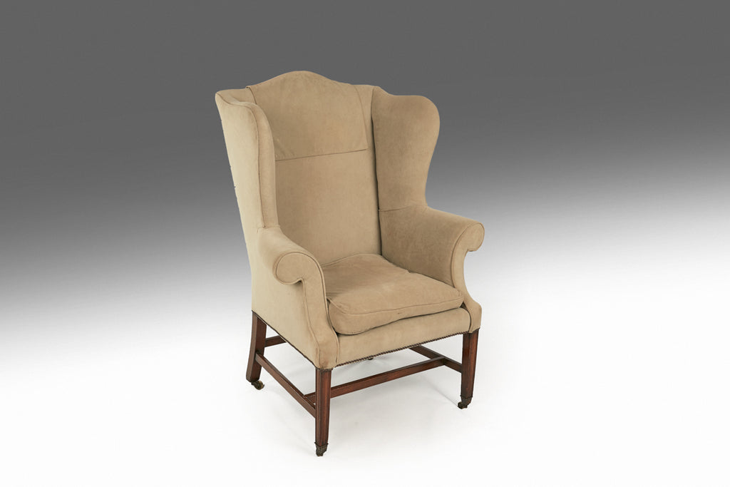 A Georgian Wing Chair - ST431