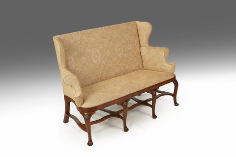 A Fine Irish Georgian Walnut Settee - ST117