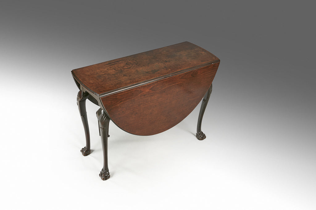 A Mid 18th Century Drop Leaf Table  - TB254