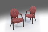 A Pair of Adam Armchairs - ST416