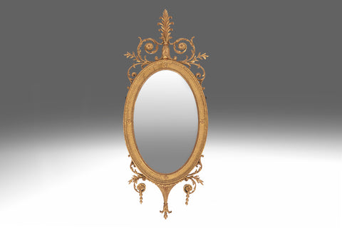 A 19th Century Carved Mirror - MR138