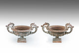 A Pair of 19th Century Garden Urns - MS212
