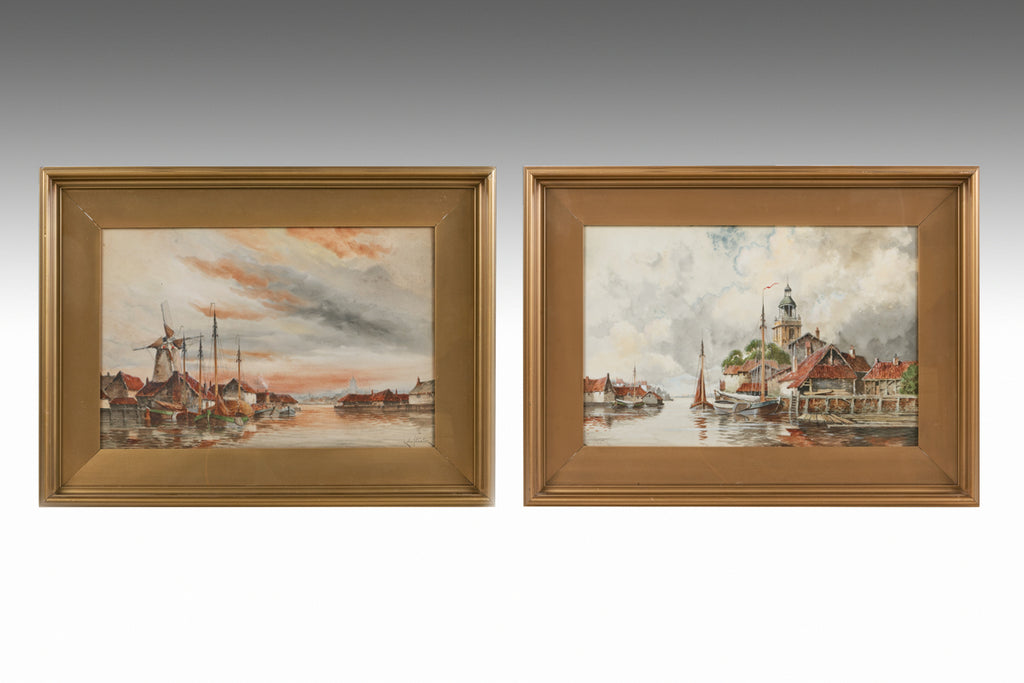 A Pair of 19th Century Water Colours - PTG117