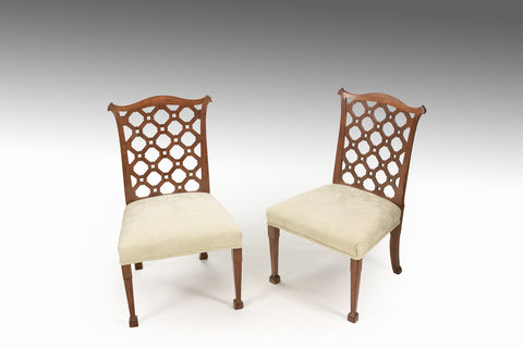 A Pair of Chippendale Side Chairs - ST503