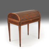A Tambour Front Writing Desk - REST15