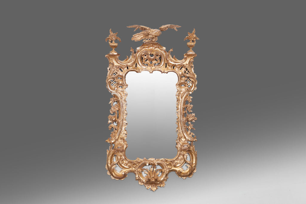 Irish Gilt Mirror - MR121