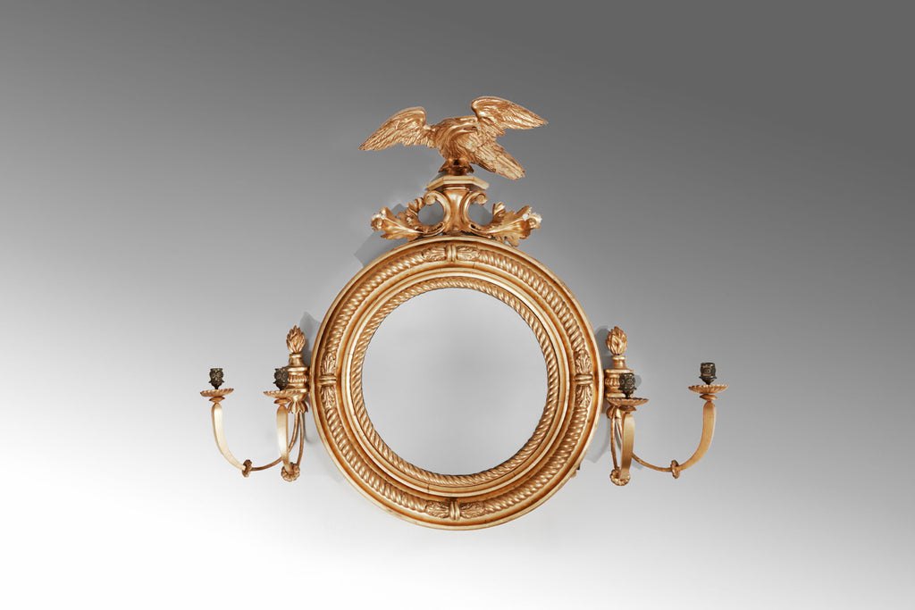 A 19th Century Convex Mirror - MR135