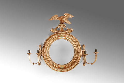 An Irish 18th Century Gilt Mirror - MR164