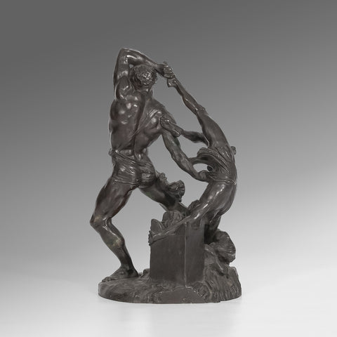 Bronze  of Hercules and Lichas  - MS124
