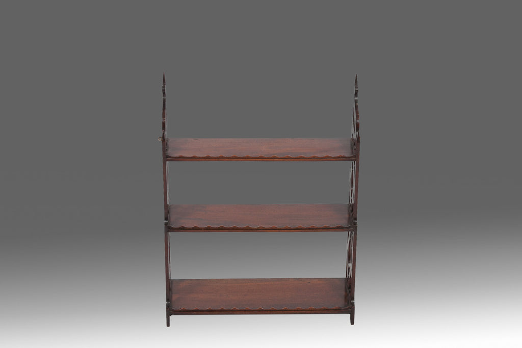 Mahogany Bookshelves - MS132