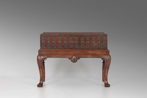 Irish Walnut Cutlery Stand - MS115