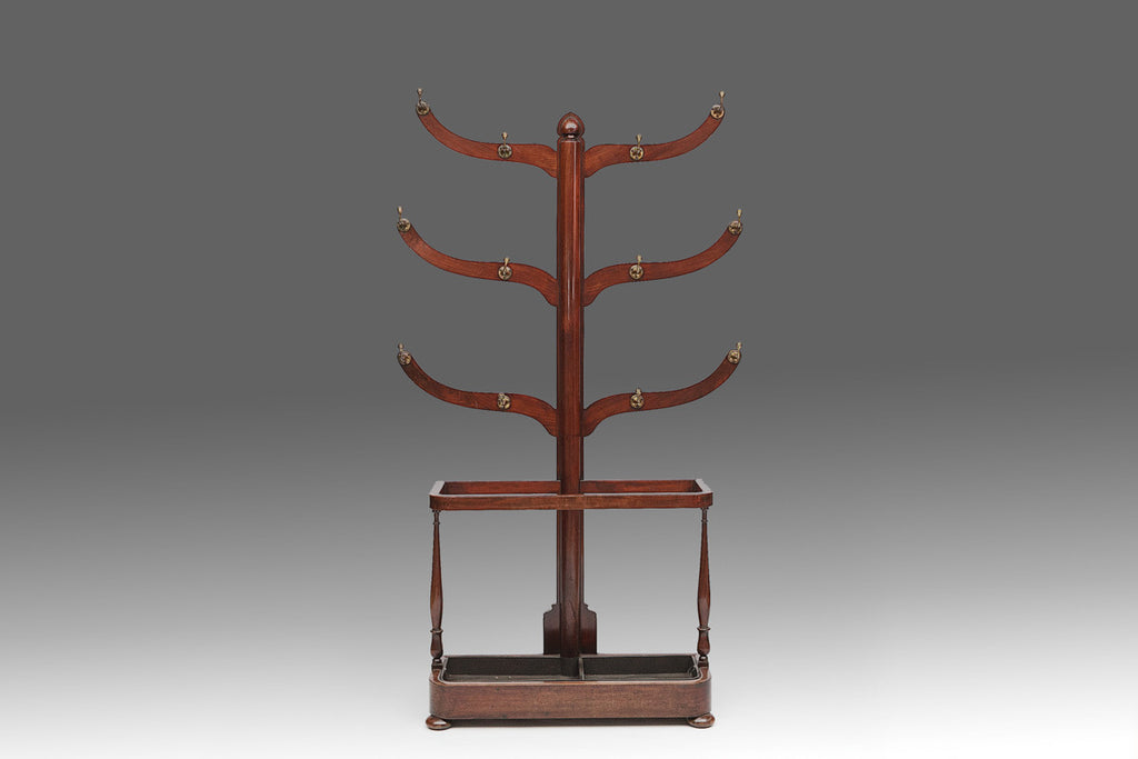 A Regency Mahogany Coat Stand - MS140