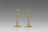 Pair of Queen Anne Candlesticks - MS119