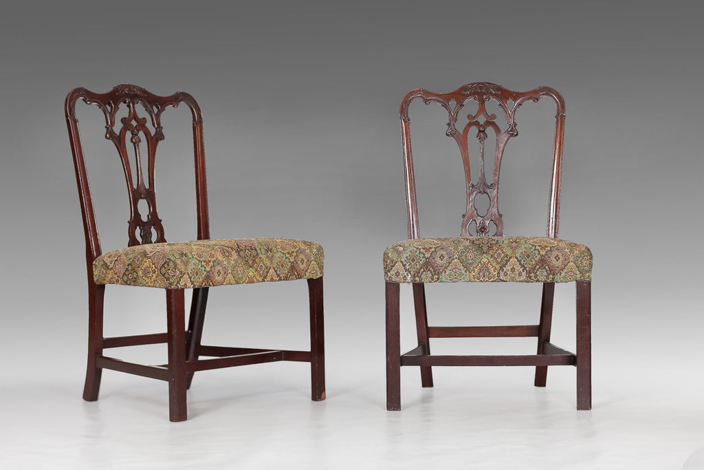 Eight Chippendale Chairs - ST116