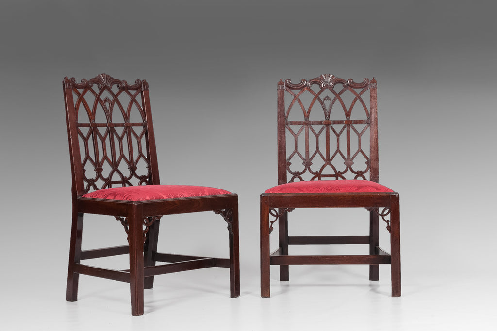 A Very Good Pair of 18th Century Chairs - ST108