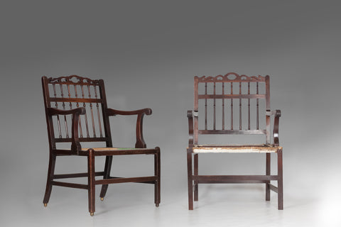 Pair of English Armchairs - ST120