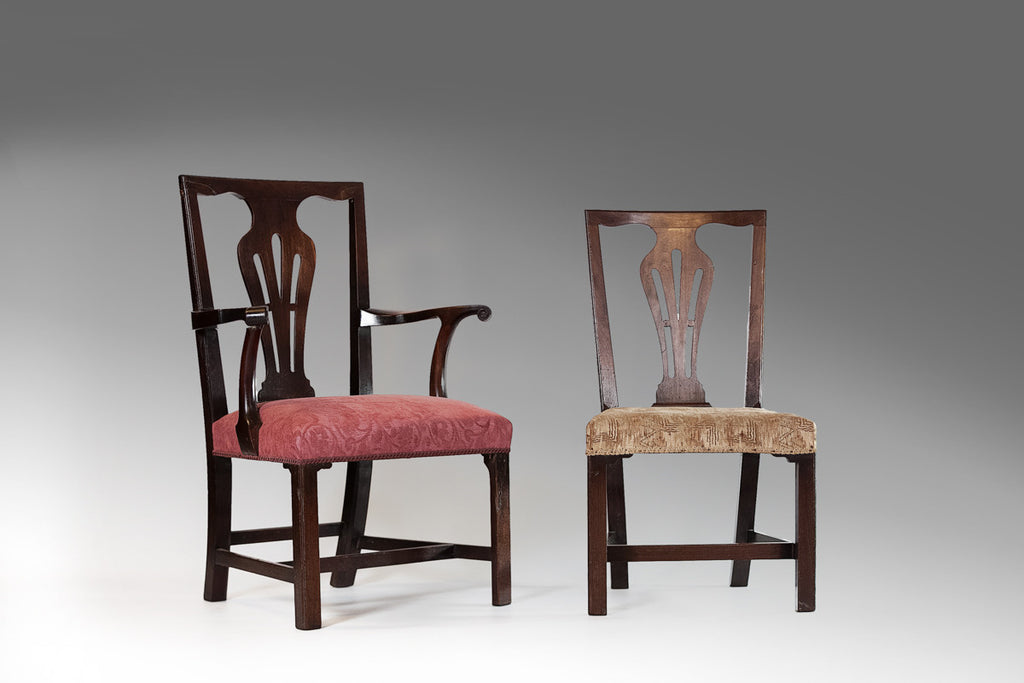 Set of Six Irish Chairs - ST125