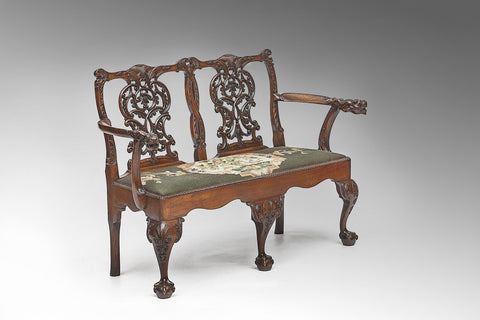 A 19th Century Child's Bench - ST148