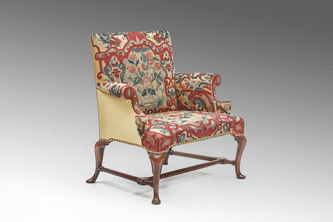 A Rare Queen Anne Love Seat - ST147