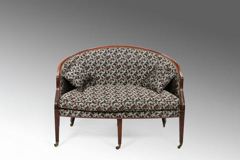 A Georgian Hepplewhite Settee - ST156