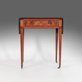 A Georgian Satinwood Pembroke Table - TB106