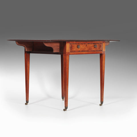A Georgian Drop Leaf Table - REST11