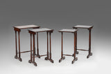 A Rare Rosewood Nest of Tables - TB181