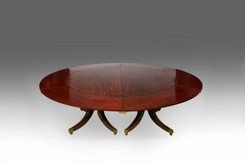 Large Irish Regency Dining Table - TB190