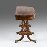 A Regency Rosewood Card Table - TB315