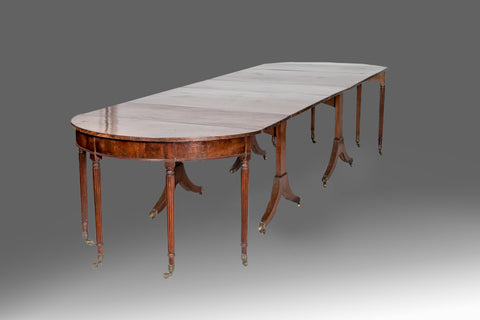A Regency Dining Table  by Gillows - TB157