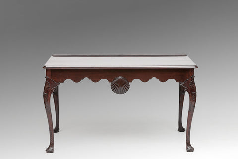 An Irish 18th Century Mahogany Side Table - TB117