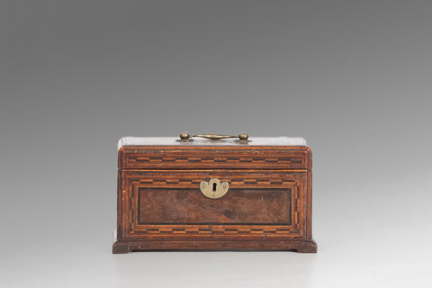 A Georgian Chippendale Tea Caddy - TC103