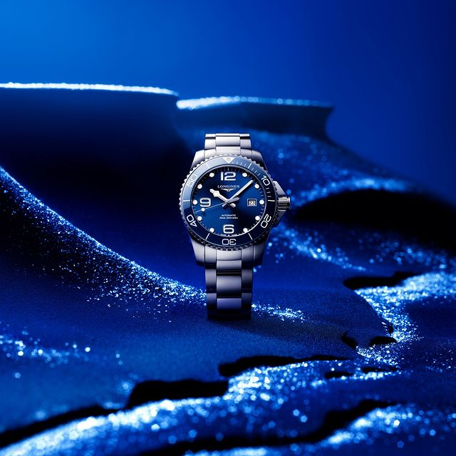 Explore the underwater world with The Longines HydroConquest