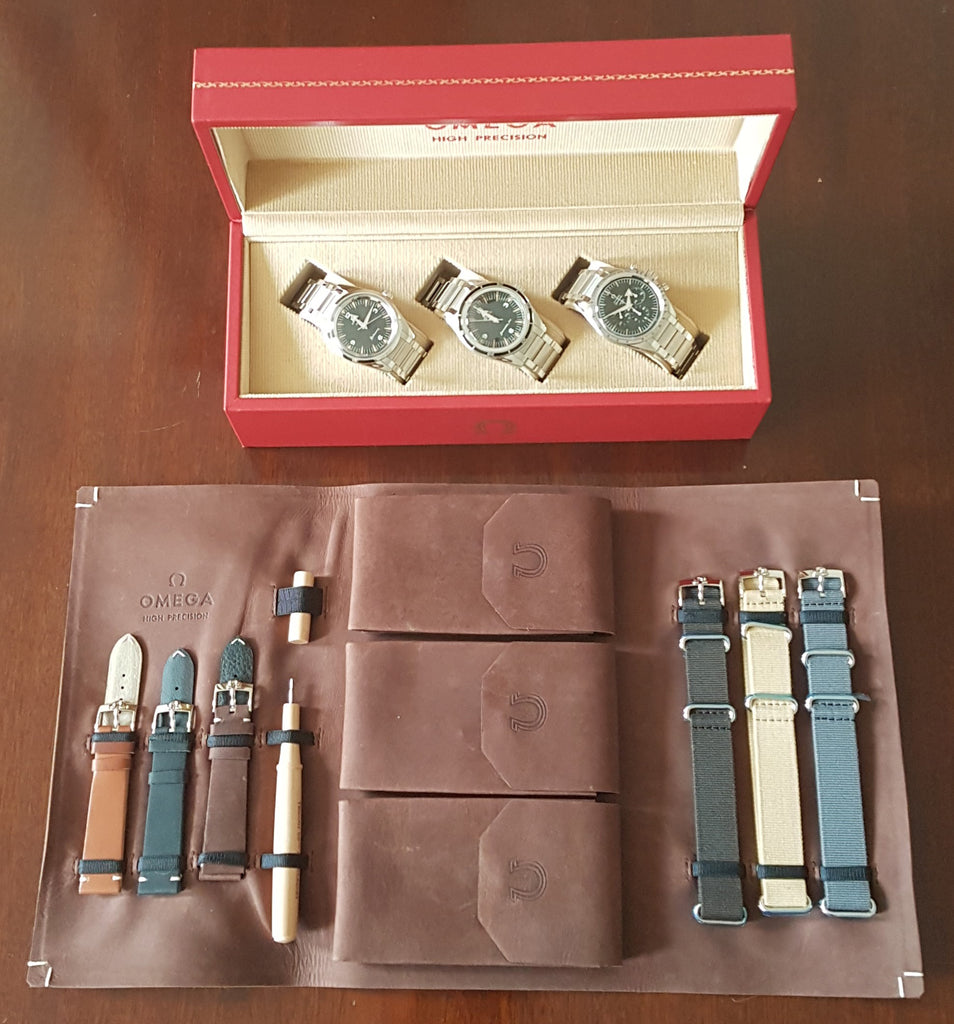 "The Extremely Rare Omega ""1957 Trilogy"" Set"
