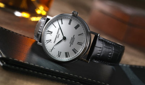 THE FREDERIQUE CONSTANT CLASSICS : ART OF PORCELAIN WATCH FC-302P4S6