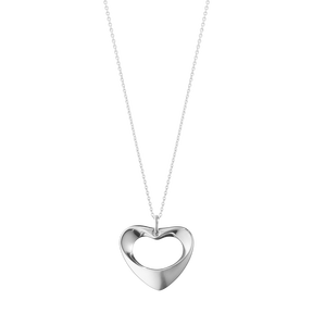 Georg Jensen Heart Shaped Necklace
