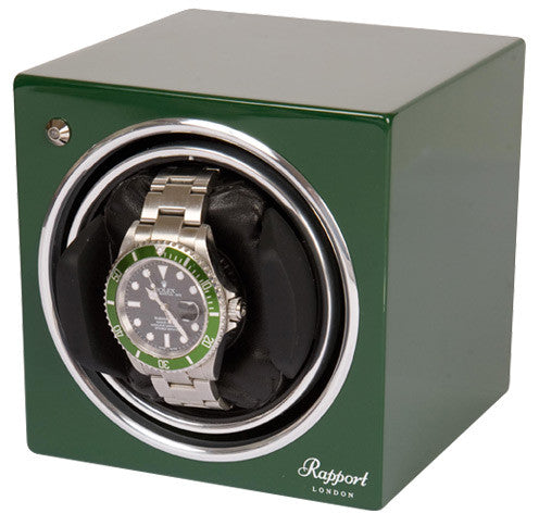 RAPPORT Evolution Winder Box GREEN - NEW - Ogden Of Harrogate