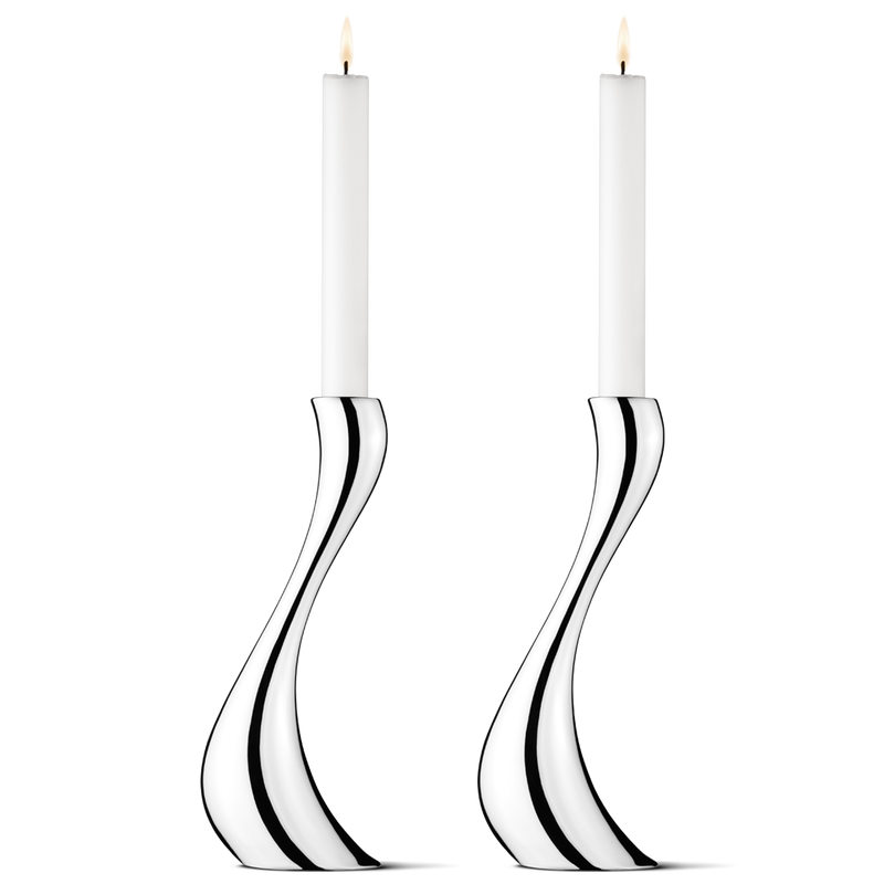 COBRA CANDLEHOLDER, LARGE 2 PIECE -  3586695