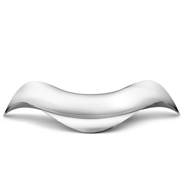 A GEORG JENSEN 'Cobra' Oval Tray in Stainless Steel