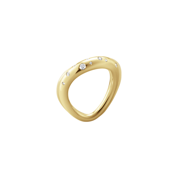 Offspring Ring- 18ct Yellow Gold with Brilliant Cut Diamonds 1005345