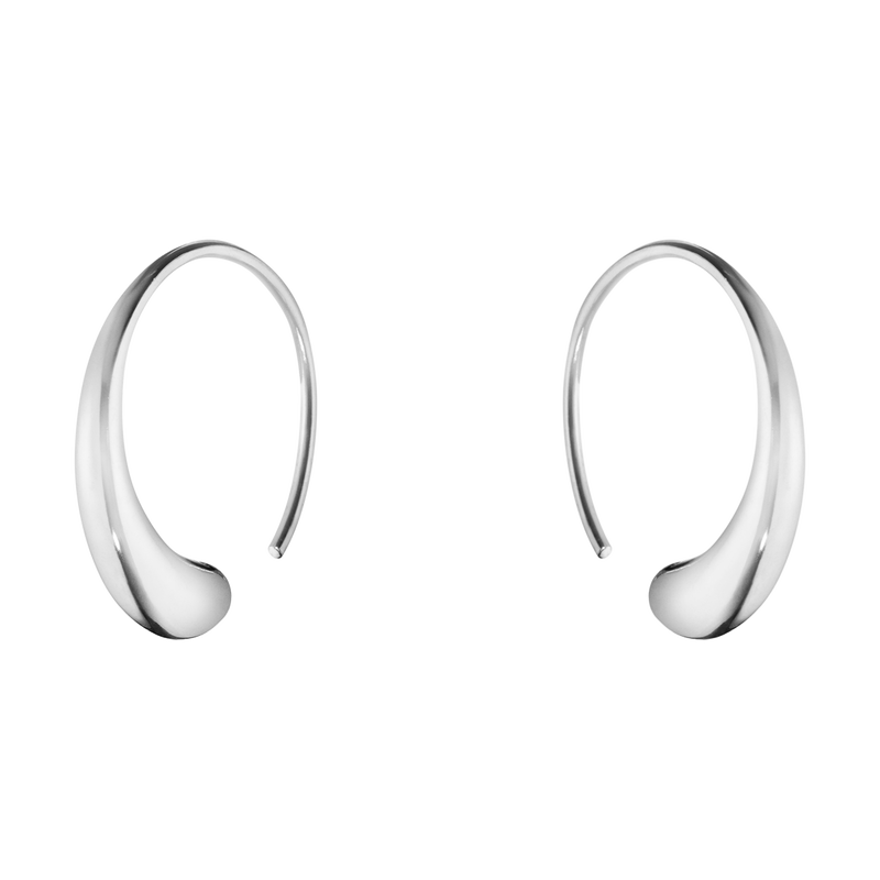 Georg Jensen Mercy Earhoops - Sterling Silver (10015603)