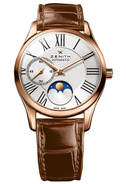 ZENITH Elite Ultra Thin Ladies Moonphase watch 33mm 18.2310.692/02.C709 - Ogden Of Harrogate - 1