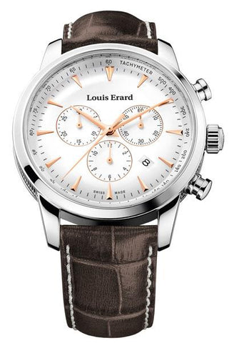 LOUIS ERARD Heritage Collection Quartz Chronograph Watch 13900AA10.BDC101